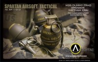 Spartan Airsoft M26 Frag Grenade Dummy (Vietname era) - without tube version