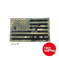 MS Patch IR AOR2 US Flag 5