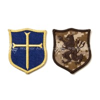 Silent Professional Golden Knight Patch set (AOR1 Lion and Gold sword)