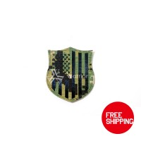 Warrior Airsoft Custom IR US Flag (Shield) (AOR 2)