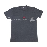 The Will to Fight T‑Shirt - Men's Low Vis/Subdued Grey (Charcoal)