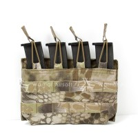 Mayflower Quad MP7 Mag Open-Top Pouch (Kryptek Highlander)
