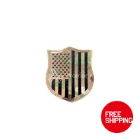 Warrior Airsoft Custom IR US Flag (Shield) (MC)